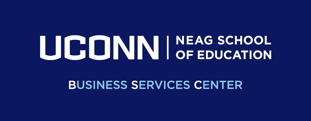 Business Services Center at the Neag School of Education, UConn